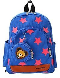 Decdeal Kindergartenrucksack Babyrucksack mit Sterne Muster für Mädchen Jungen preisvergleich bei kinderzimmerdekopreise.eu