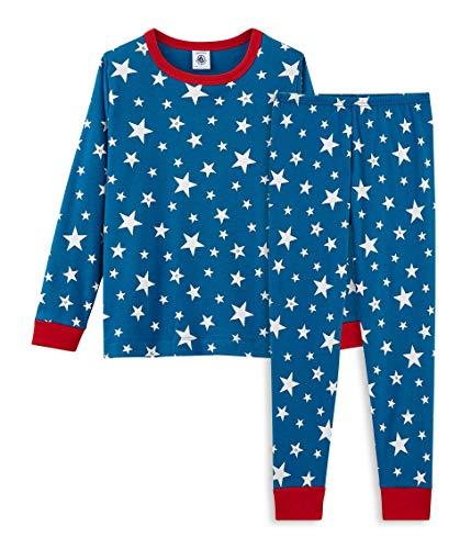 Petit Bateau Jungen Zweiteiliger Schlafanzug Pyjama 4692501 Mehrfarbig  (Major Ecume 01) 545b3b7ff74