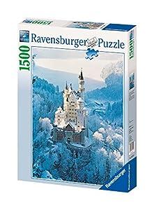 Ravensburger - Puzzle de 1500 Piezas Neuschwanstein en Invierno (16219)