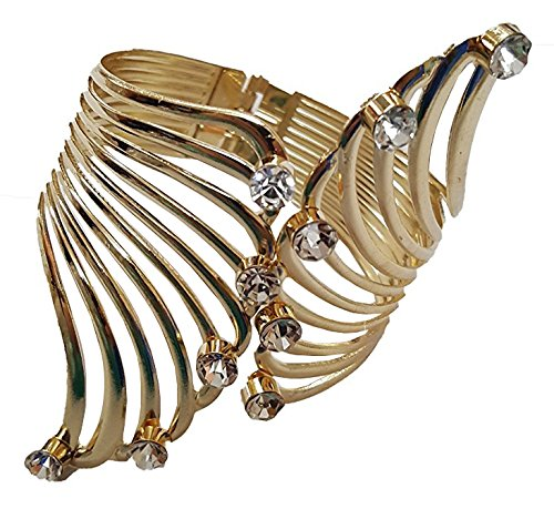 YouBella Jewellery Designer Gold Plated Bangle Bracelet For Girls and Women