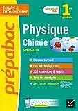 Physique-chimie 1re (spécialité) - Prépabac: nouveau programme de Première 2019-2020