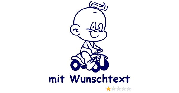 Windel Winni Babyaufkleber Mit Name Wunschtext Motiv Ww3 16 Cm Auto
