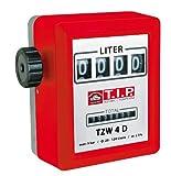 T.I.P. Zählwerk Zähler Durchflussmesser für Pumpen TZW 4D