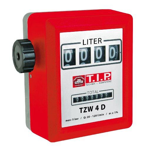 Zählwerk Zähler Durchflussmesser für Pumpen TZW 4D