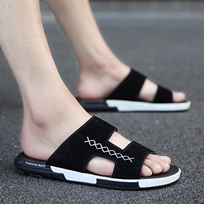 Fankou Chaussons homme lame summer mode lame homme de fond mou, portez des sandales Tide Tide personnalité dans le champ... - B07BWFBTX3 - 18984c