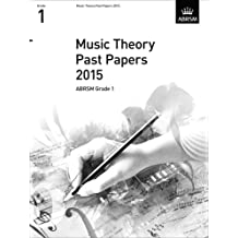 Music Theory Past Papers 2015, ABRSM Grade 1 2015