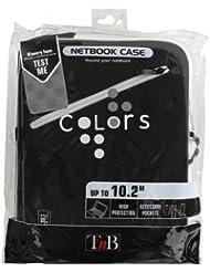 T'nB Colors Housse de protection pour Netbook 10,2'' Noir/Blanc