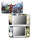 Captain America Comic Thor Hulk Iron-Man Hawkeye Video Game Vinyl Decal Skin Sticker Cover for Original Nintendo 3DS XL System by Vinyl Skin Designs