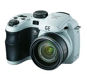 GE X500 Appareil photo numérique compact avec stabilisation d'image LCD 2,7'' 16,5 Mpix 15x Electronique 13,7 Go Blanc