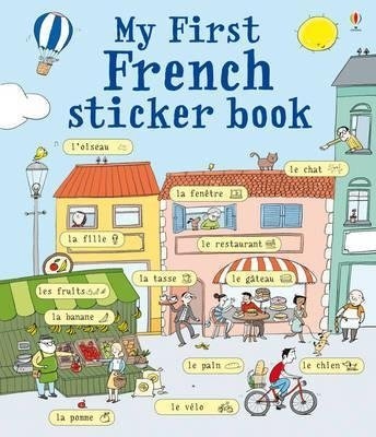 [(My First French Sticker Book)] [By (author) Sue Meredith ] published on (February, 2011)