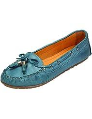 Klondike - Zapatos de cordones para mujer Azul azul