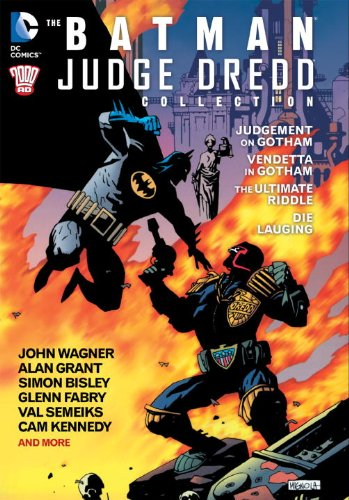 BATMAN JUDGE DREDD