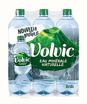 Volvic Eau Minérale Naturelle Bouteille 6 x 1,5 L