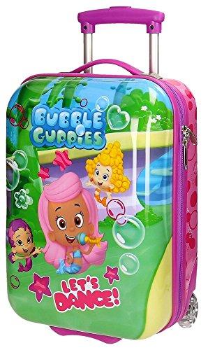 Bubble Guppies Maleta de Cabina Rígida, Color Morado, 26 litros