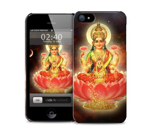 lakshmi-hindu-dea-iphone-4-4s-di-copertura-in-plastica-della-cassa-del-telefono-di-protezione-immagi