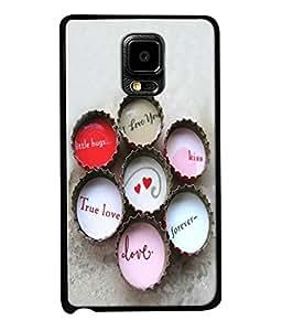 Fuson Designer Back Case Cover for Samsung Galaxy Note Edge :: Samsung Galaxy Note Edge N915Fy N915A N915T N915K/N915L/N915S N915G N915D (Hearts Hello Kiss Forever Love )