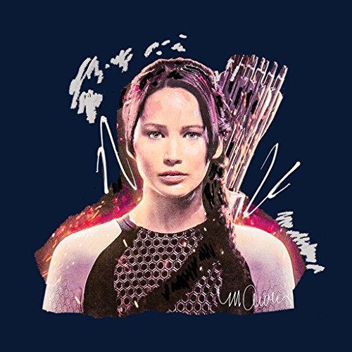 Sidney Maurer Jennifer Lawrence Hunger Games Official Women's Sweatshirt Navy blue