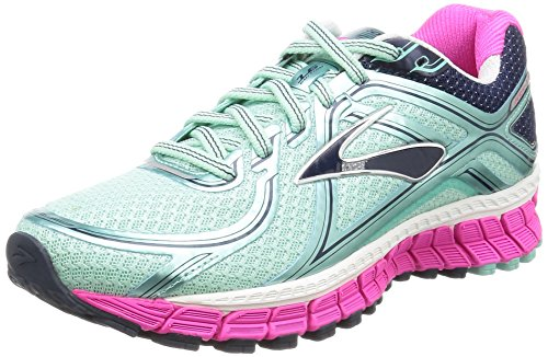 Brooks Athletic Apparel (Brooks Adrenaline Gts 16, Damen Laufschuhe, Mehrfarbig (türkis/pink), 36.5 EU (4 UK))