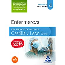 Enfermero/a del Servicio de Salud de Castilla y León (SACYL). Temario volumen IV