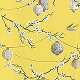 Arthouse, papier peint, jardin chinois, jaune695401, jaune, Full Roll