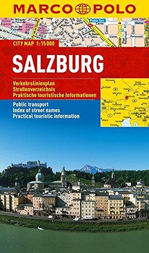 Preisvergleich Produktbild MARCO POLO Cityplan Salzburg 1:15 000 (MARCO POLO Citypläne)