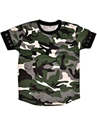 Esteem Brand Boys Camaflog/Army Printed T Shirts Pack of 1 Piece