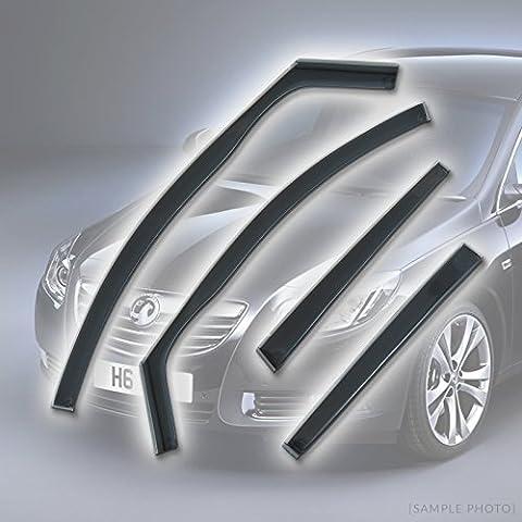 Vauxhall Insignia Full Set (2008 onwards 4DR REARS) Wind Deflectors Rain Wind Window Deflectors