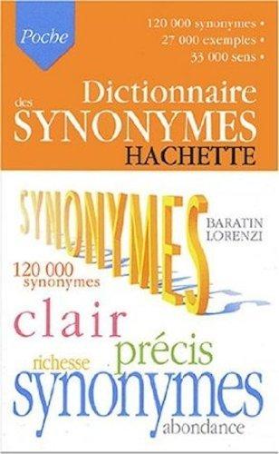 Dictionnaire des synonymes de Collectif (16 juillet 2003) Poche