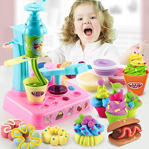 MKYVERAY Kits 22 pcs Smart Dough Tools 1 pcs Extruder Tools (Random Color)