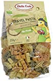 Dalla Costa Alimentare Travel Pasta di Semola di Grano Duro Tricolore Biologica con Pomdoro e Spinaci - Pacco da 250 g