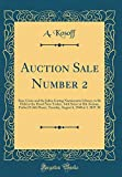Auction Sale Number 2: Rare Coins and the Julius Guttag Numismatic Library, to Be Held at the Hotel New Yorker, 34th Street at 8th Avenue, Parlor D ... 6, 1940 at 1. 30 P. M  (Classic Reprint)