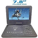 MK 3D 7.8 Inch Portable DVD VCD CD Player MP3 MP4 Color TV USB Memory Card Slot