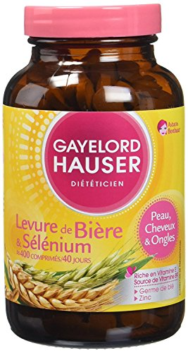 GAYELORD HAUSER - Diätetisch - Nägel Und Haare Bierhefe - 400 Tabletten Pot