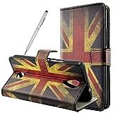 Fraelc® Handyhülle für Wiko Tommy Book Style Wallet Case