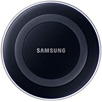 Samsung Induktive Ladestation Qi-Charger, kompatibel mit Samsung Galaxy S6/S6 Edge und S7/S7 Edge, schwarz