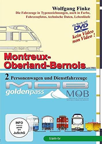 Montreux-Oberland-Bernois-Bahn Teil 2 - Personenwagen und Dienstfahrzeuge