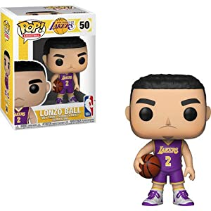 Funko Pop Lonzo Ball Los Ángeles Lakers camiseta morada (NBA 50) Funko Pop NBA