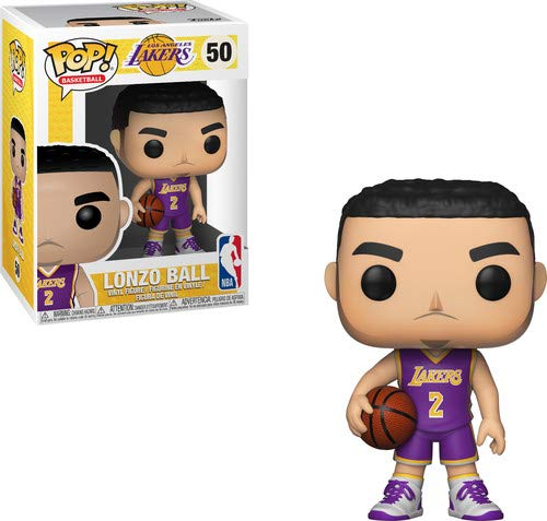 Funko 34428 Pop! Vinilo: NBA: Lonzo Ball, Multi