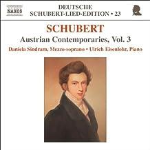 Schubert - Austrian Contemporaries, Vol 3