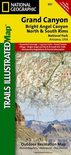 National Geographic Trails Illustrated Map Grand Canyon: