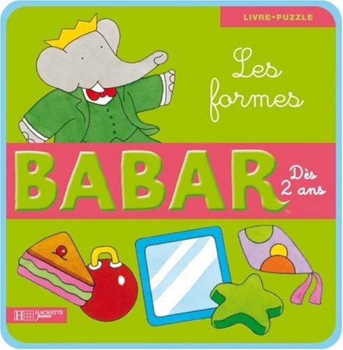 Babar : Les formes : Livre-puzzle