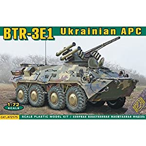 ACE ace72175 - Maqueta de BTR de 3e1 Ukrainian Armored Personnel Carrier