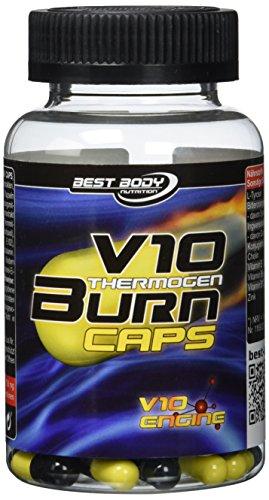 Best Body Nutrition V10 Thermogen Burn Caps 100 St. Dose, 1er Pack (1 x73,8 g)