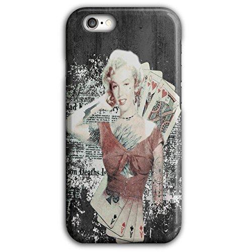 Monroe Deck (Wellcoda Monroe As Diva Berühmtheit Hülle für iPhone 6 Plus / 6S Plus Zocken Rutschfeste Hülle - Slim Fit, komfortabler Griff, Schutzhülle)