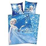 Herding Bettwäsche-Set Disney`s Die Eiskönigin, Baumwolle, Blau, 200 x 140 cm