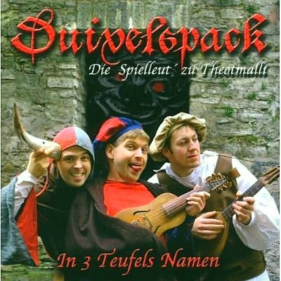 Duivelspack - In 3 Teufels Namen [Picture Inlay Version - ClearBox]