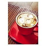 broadroot 5D Full Diamond Malerei Kaffee, DIY Stickerei Naht Kreuzstich Arts Craft Kit für Geschenk happy red coffee cup