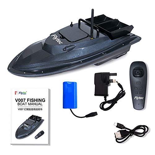 Dkings Ferngesteuertes Boot für Pools Seen, Fish Finder 1.5kg Loading 500m Ferngesteuertes Fischköderboot RC-Boot, elektronische Fernbedienung, für Kinder oder Erwachsene