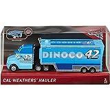 Disney Pixar Cars 3 Cal Weathers Hauler Truck mit aufklappbarer Ladefläche
