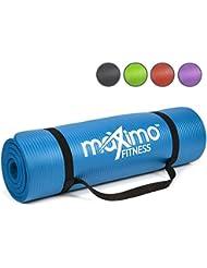 Esterillas Fitness - 183cm de Longitud x 60cm de Ancho x 1,2cm de Grosor Extra, Multiusos - Perfecta para realizar Yoga, Pilates, Abdominales y Estiramientos - Garantía de por Vida.